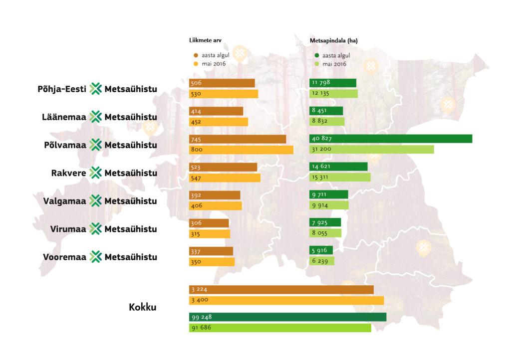 Metsaühistu® ühendab kolmandikku ühistegevusse koondunud metsaomanikest