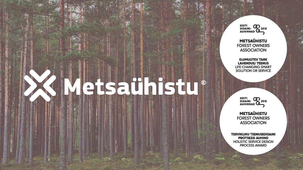 Metsaühistu® pälvis konkursil Eesti Disainiauhinnad 2016 kaks esikohta