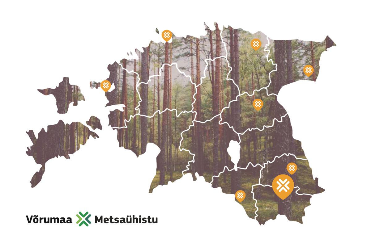 Metsaühistu® kaubamärgiga liitus Võrumaa Metsaühistu