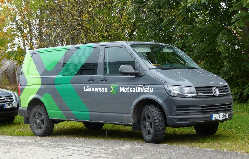 METSAÜHISTU MÄRK 2016 metsaühistu logoga auto