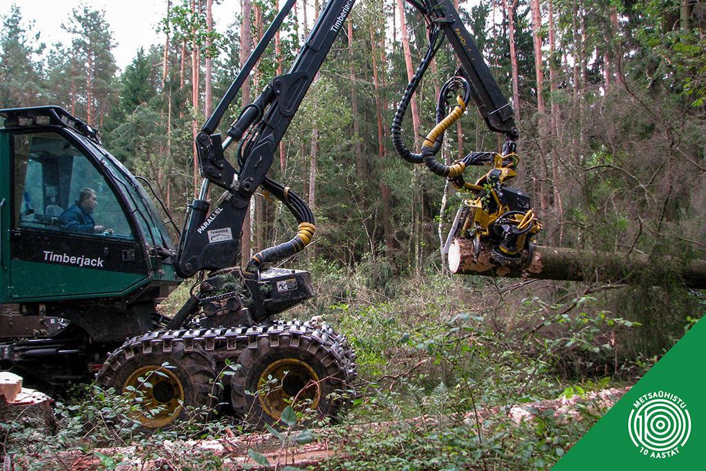 Metsatehnika. Harvester. Metsaühistu