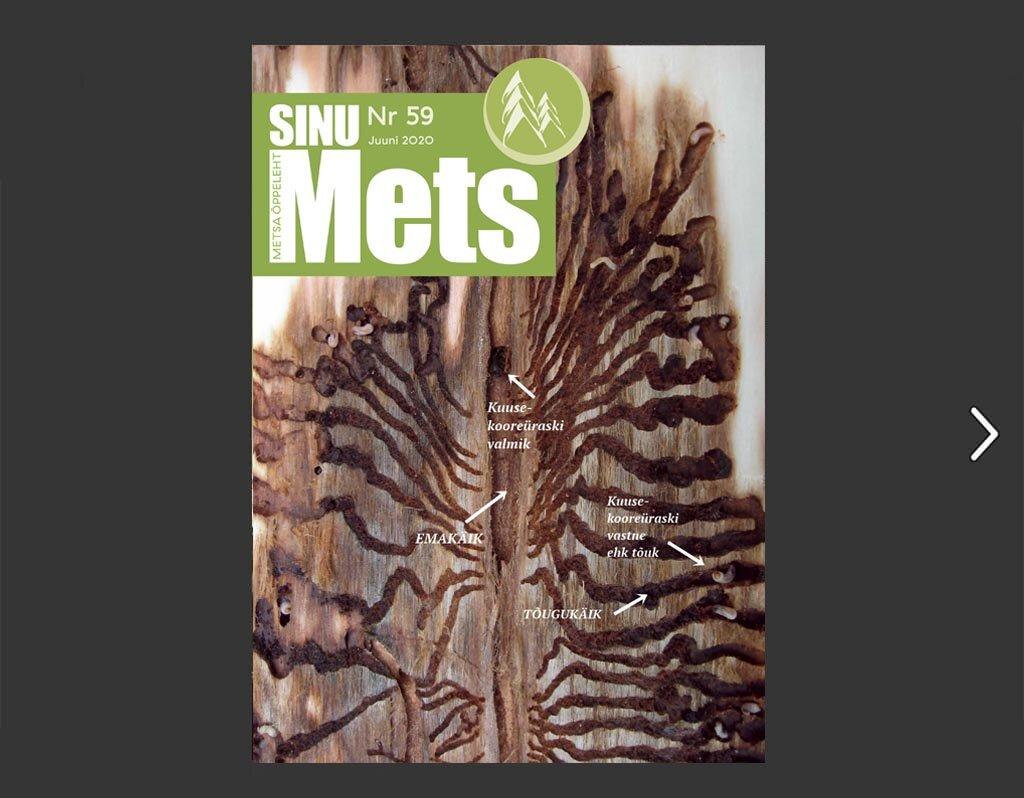 Sinu Mets - Nr 59 - Juuli 2020. Metsaühistu